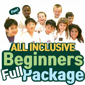 All Inclusive Beginners Full Package - Taekwondo